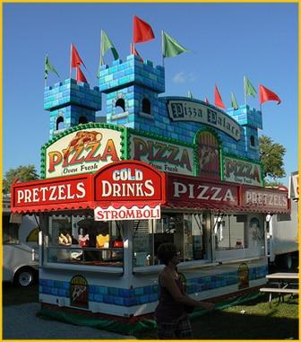 Pretzels Cold Drinks Pizza