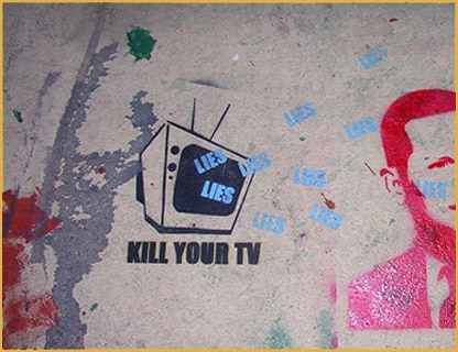 Kill Your TV lies lies