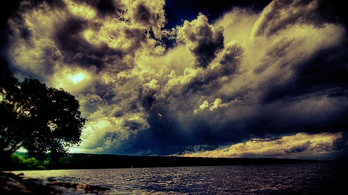 Another Storm Over Cayuga