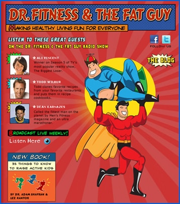 Dr. Fitness and the Fat Guy