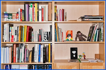 Design Books Shelf