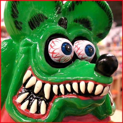 Rat Fink Bank
