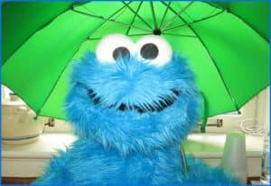 5858 Cookie Monster
