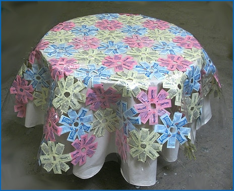 Artificial Sweetener Packet Tablecloth
