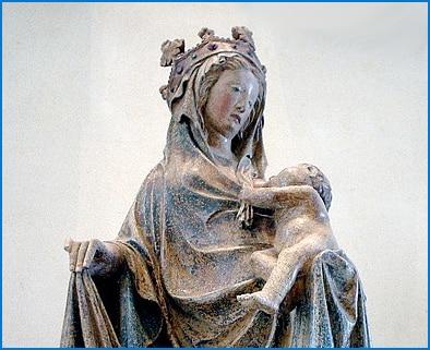 The Blessed Virgin Breastfeeding