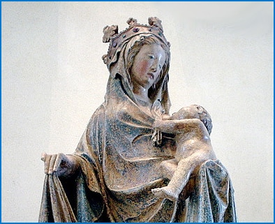 The Blessed Virgin Breastfeeding