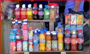 Soft Drinks on Union Island