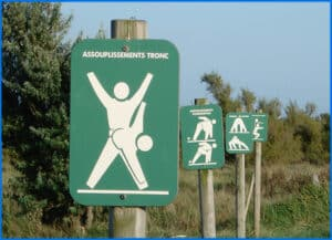 exercise signs