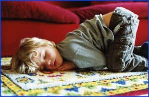 Bela sleeping