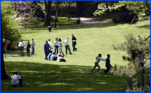 Central Park- Kids Playing
