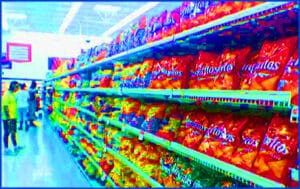 An aisle just for chips!