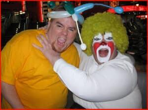 Fat, Handicapped Clown