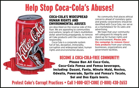 coca cola ethical issues 2014