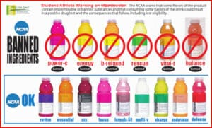 NCAA Banned Ingredients