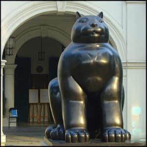 Fernando Botero's Cat