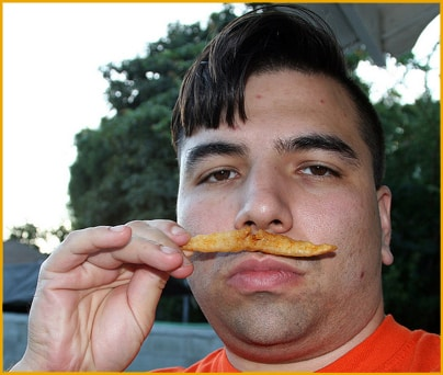 Me with Moustache Fry