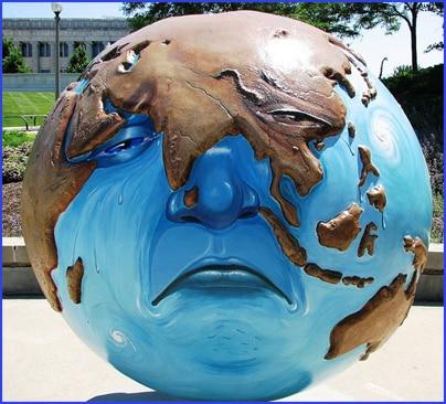 Cool Globes Chicago Sad Earth