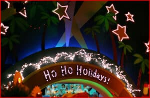 Holiday Themed It's a Small World