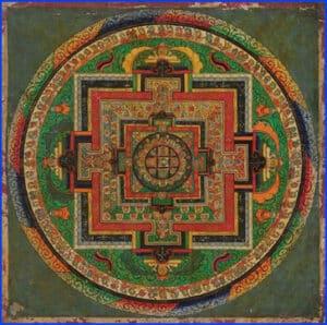 Mahavairocana Mandala - Tibet, 19th Century