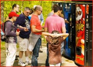 Mid-Hike Vending Machine