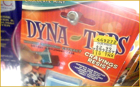 Dyna Tips anti-craving supplement