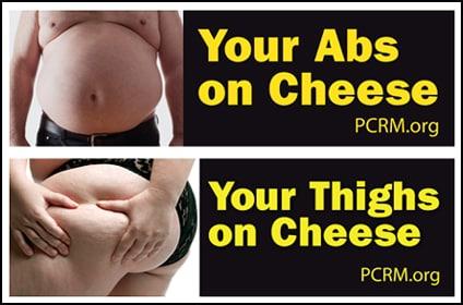 PCRM billboards