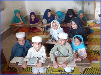 School Children in Peshawar