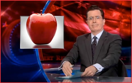 Colbert-apple