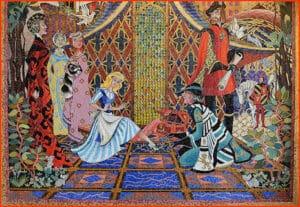Mural-inside-Cinderella's-Castle