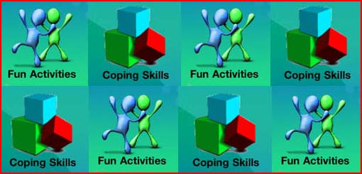 fun activities and coping skills