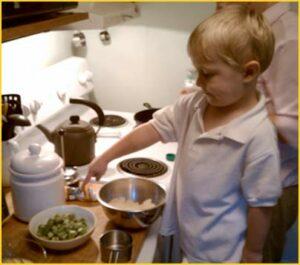 Cooking-okra