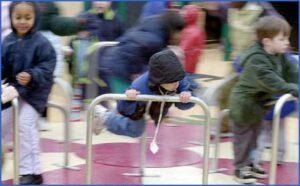 Kids-playing-at-Edwin-Pratt-Park,-2002