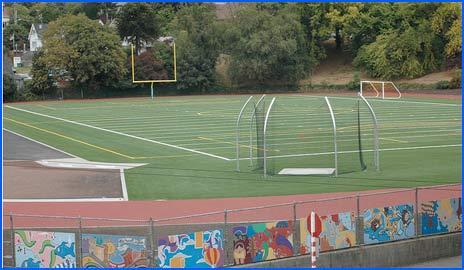 Franklin High's New Field