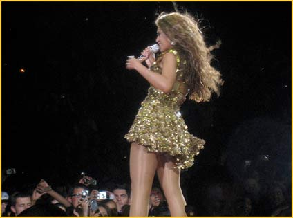 Beyonce - bercy 2009