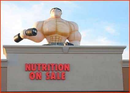 Nutrition on sale