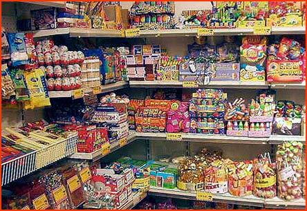 candy store, Copenhagen