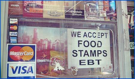 Food stamps, Brooklyn deli