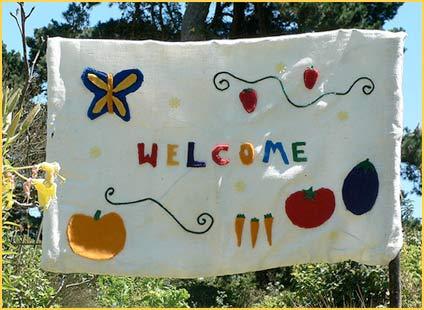 Children's Garden Welcome