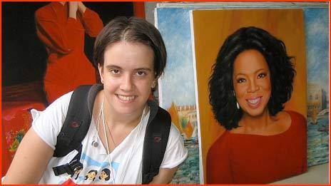 me and Oprah