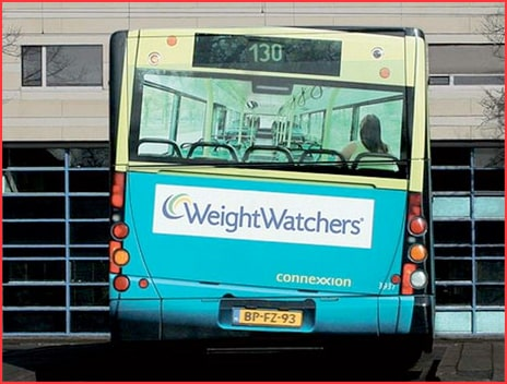 WeightWatchers Bus