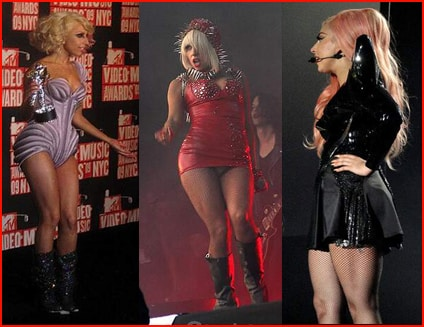 Lady Gaga x 3