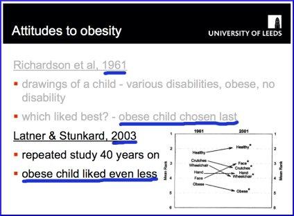 Attitudes to Obesity