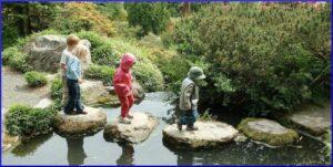 Kids at Kubota Garden, 2003