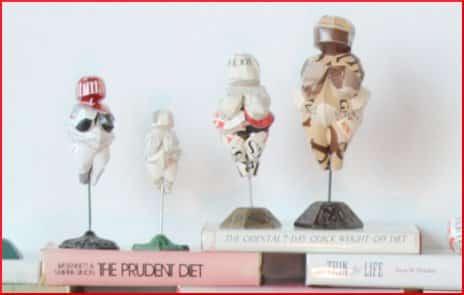 Venus of Willendorf Paper Sculptures