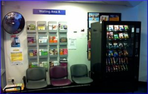 Scottish health centre waiting area - June 2012