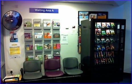 Scottish health centre waiting area, June 2012