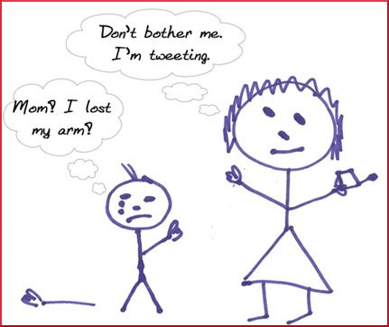 tweeting stick