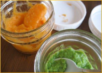 Sweet peas and potatoes