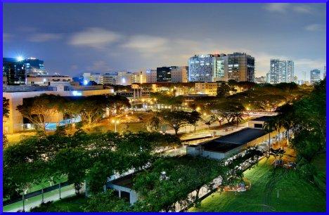 Overlooking Singapore General Hospital
