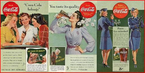 old Coca-Cola ad